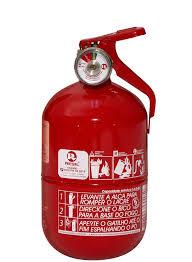 """Extintor de incendio veicular classe """"ABC"""""""